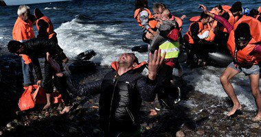 غرق اللاجئين