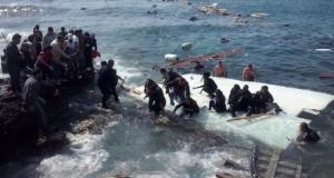 مصرع بسبب غرق زورقين فى بحر إيجه أمام اليونان